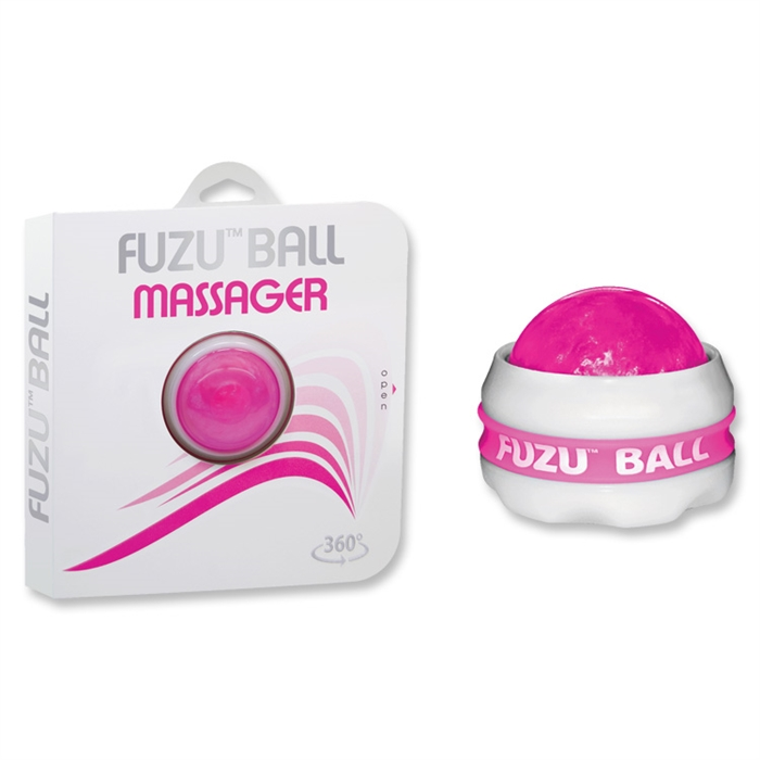 Sd Variations Fuzu Ball Massager 360 Neon Pink