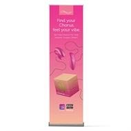 Picture of We-Vibe Chorus  Roll-up Banner  EN