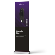 Picture of Moxie Black Roll-Up Banner French
